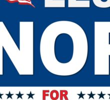 Vote Leslie Knope 2012 Sticker