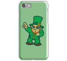 irish leprechaun st patrick beer  faery iPhone Case/Skin