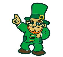 irish leprechaun st patrick beer  faery Photographic Print