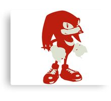 Minimalist Knuckles Canvas Print
