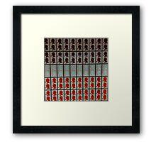 Sherlock Holmes - Baker Street Underground Station Framed Print