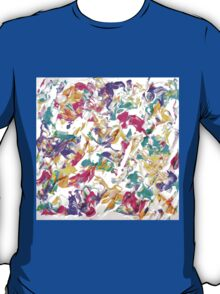 Colorful Abstract Design, Pastel Colours  T-Shirt
