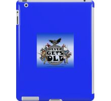 The Never Gets Old Hero Logo iPad Case/Skin