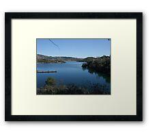 Dixon Lake Framed Print