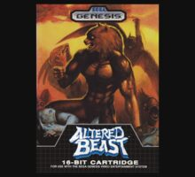 Altered Beast Genesis Megadrive Sega Box Cover by ruter