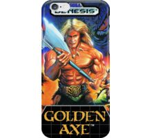 Golden axe Genesis Megadrive Sega Box cover iPhone Case/Skin
