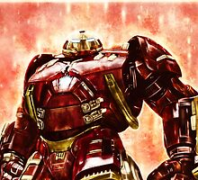 Avengers : Age of Ultron - Hulkbuster by p1xer