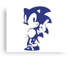 Minimalist Sonic 9 Canvas Print