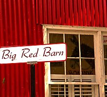 Big Red Barn by AngelPhotozzz
