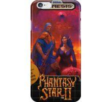 Phantasy Star 2 Genesis Megadrive Sega Box cover iPhone Case/Skin