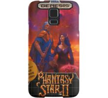 Phantasy Star 2 Genesis Megadrive Sega Box cover Samsung Galaxy Case/Skin