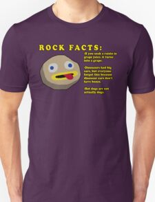 Fact Rock, WITH FACTS! T-Shirt