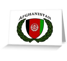 afghanistan kaboul Greeting Card