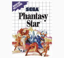 Phantasy star Master System Sega Box cover by ruter