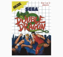 Double Dragon Master System Sega Box cover by ruter