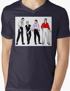 The Clash Mens V-Neck T-Shirt