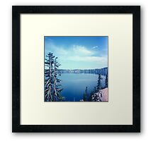 At the Lake 1003.B Framed Print