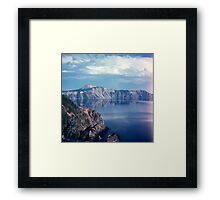 At the Lake 1003.C Framed Print