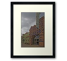 The Aztec Framed Print