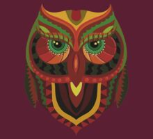 Awesome Owl Pattern 1 T-Shirt