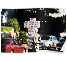 No Aids Weeping Wall Poster
