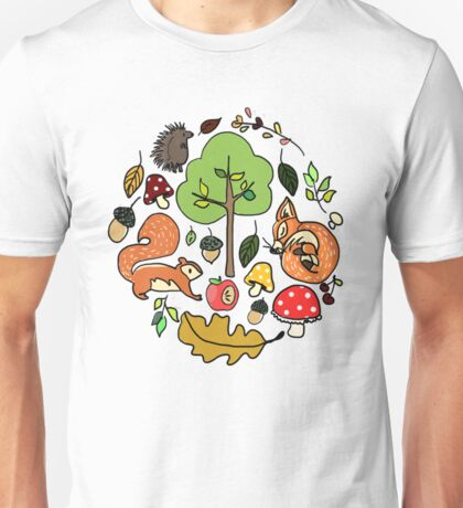 autumn came early  Unisex T-Shirt