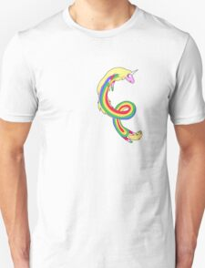 Twirl me Lady Rainicorn Unisex T-Shirt