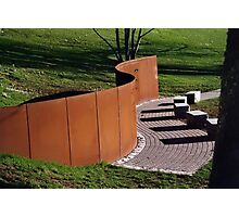 Aids Memorial Wall Photographic Print