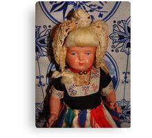 Dutch Girl Doll Canvas Print