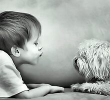 Puppy Kisses by Nicole Goggins