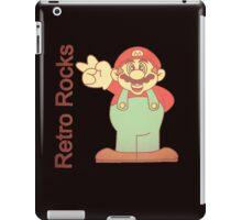 retro mario iPad Case/Skin