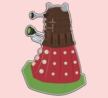 Chocolate Covered Strawberry Dalek Kids Clothes