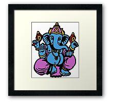 ganesh ganesha indian god Framed Print