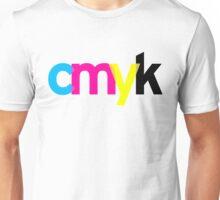 c m y k Unisex T-Shirt