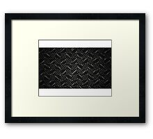 Steel Matrix iPhone / Samsung Galaxy Case Framed Print