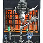 MONKEY ON A STICK (2008) by ronny2009