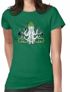 The Hopheaded Beer Wiser Womens Fitted T-Shirt