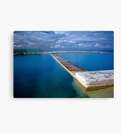 Blue Baths Canvas Print