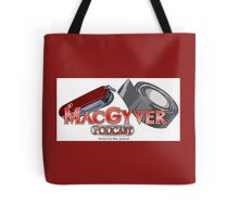 The MacGyver Podcast Logo Tote Bag