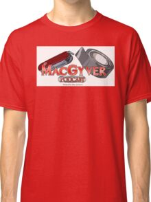 The MacGyver Podcast Logo Classic T-Shirt