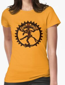 shiva indian god Hindu Womens Fitted T-Shirt