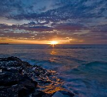 Turquoise Bay Sunset, Cape Range National Park by dsphotography