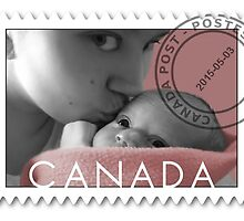 KISSES OF LOVE TO MY SWEET BABY OF MINE-CANADIAN STAMP OF LOVE by ✿✿ Bonita ✿✿ ђєℓℓσ