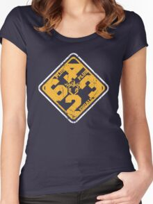 6+4+3=2 Part 2 Women's Fitted Scoop T-Shirt