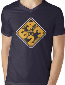 6+4+3=2 Part 2 Mens V-Neck T-Shirt