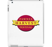 Pawnee Harvest Festival iPad Case/Skin