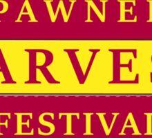 Pawnee Harvest Festival Sticker