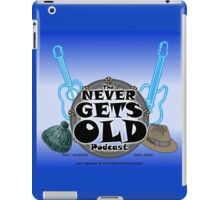The Never Gets Old Logo music and adventure iPad Case/Skin