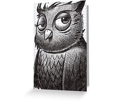 Owl O'brian Greeting Card