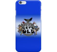 The Never Gets Old Hero Logo iPhone Case/Skin